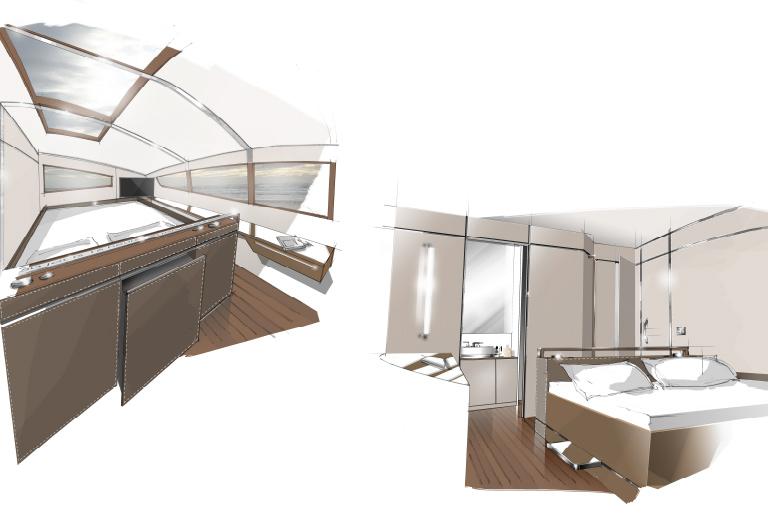 vitalia ii le refit d 39 orange 2 le projet la construction au chantier multiplast les. Black Bedroom Furniture Sets. Home Design Ideas